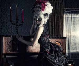 gothic, baroque, and dress image
