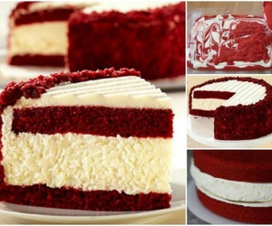 cheesecake, diy, and food image