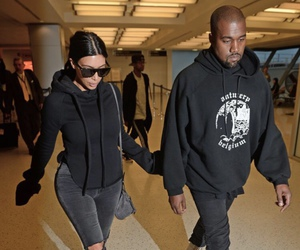 kim kardashian and kanye west image