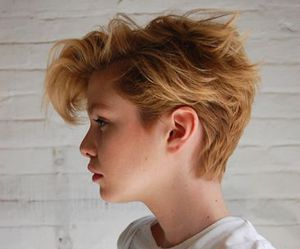 hair and short image