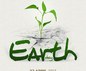 april, design, and earth image