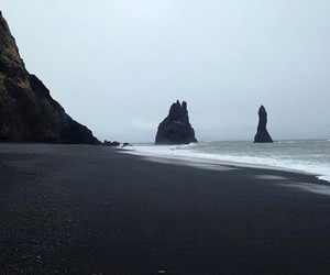 ocean, grunge, and iceland image