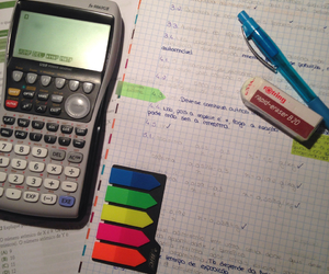calculator, exams, and exercises image