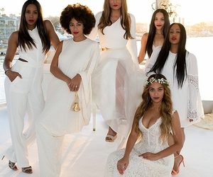 beyoncé, wedding, and queen bey image