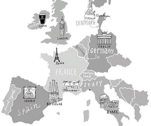 europe, france, and germany image
