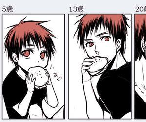 Taiga, kagami, and kuroko no basket image