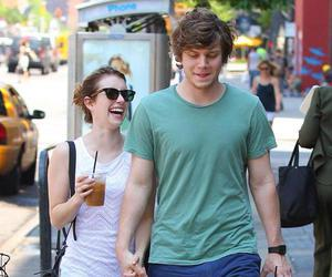 couple, emma roberts, and evan peters image