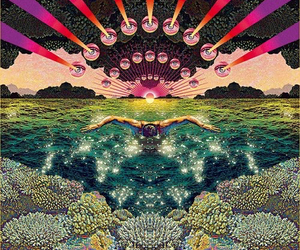 psychedelic and eyes image