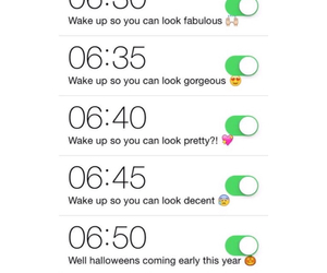 alarm, clock, and funny image