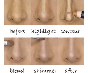 contour, shimmer, and highlight image