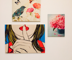 girl, popart, and art image