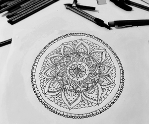 art, draw, and tribal image