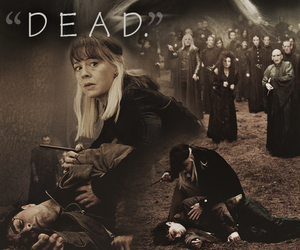 harry potter, narcissa malfoy, and dead image