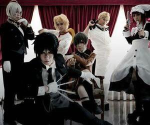 black butler, cosplay, and sebastian image