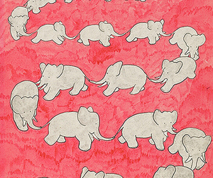 elephant, animals, and art image