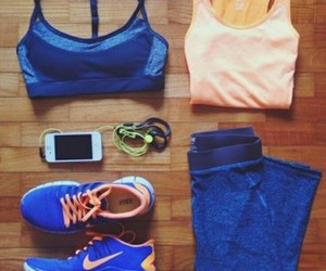 fitness, shoes, and Just Do It image