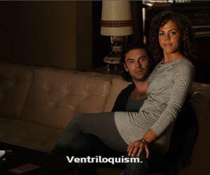 annie, mitchell, and ventriloquism image