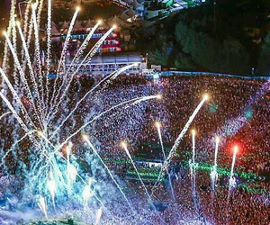 party, rave, and Tomorrowland image