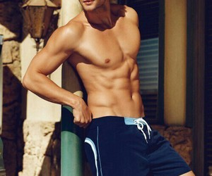 boy, fitness, and handsome image