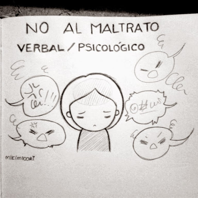 Maltrato Verbal Psicológico Mikimidori On We Heart It