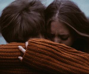 boy, hug, and lovely image
