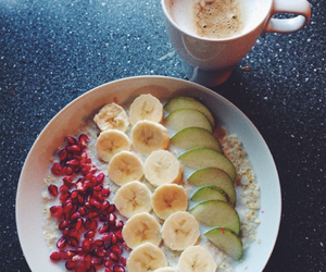 fruit, breakfast, and oats image