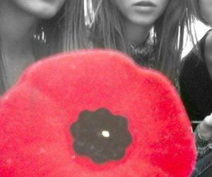 artsy, poppies, and girls image