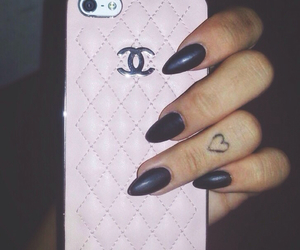 chanel, girly, and heart image