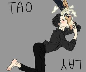 exo, fanart, and lay image