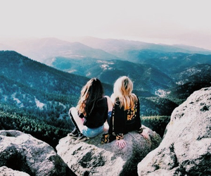 best friend, travel, and tumblr image