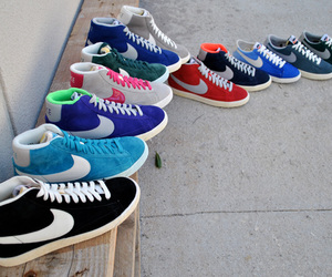 nike, blazer, and shoes image