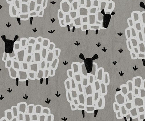 sheeps, wallpaper, and cute image