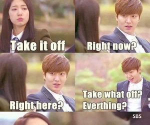 the heirs, park shin hye, and kim tan image