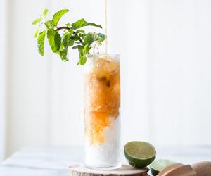 beverage, food, and mint julep image