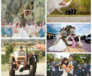 wedding, bride, and creative image