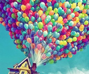 balloons, disney, and movie image
