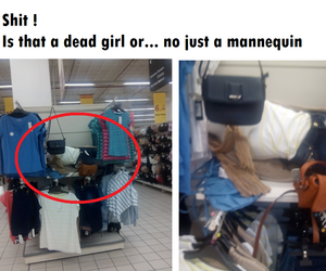 dead, funny, and girl image