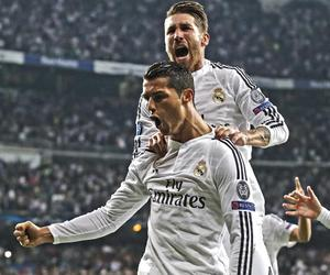 cristiano ronaldo, pepe, and real madrid image