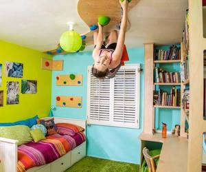 bedroom and climbing image