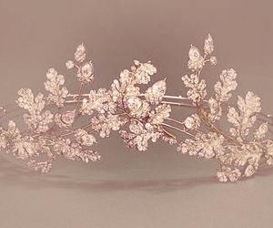 crown, pink, and tiara image