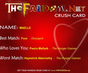 crush, the hunger games, and fandoms image