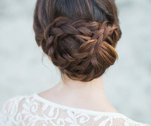 boda, bride, and hairdress image