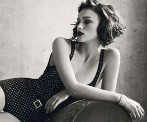 keira knightley, black and white, and photography image