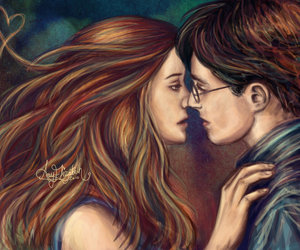 harry potter and ginny weasley image