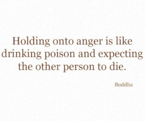 Buddha and anger image