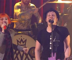 fall out boy, haley williams, and patrick stump image