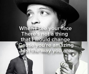 blackandwhite, wallpaper, and brunomars image