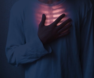 chest, red, and hand image