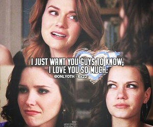 one tree hill, brooke, and brooke davis image