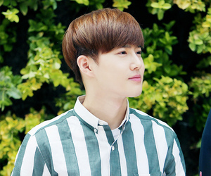 exo, nature republic, and suho image